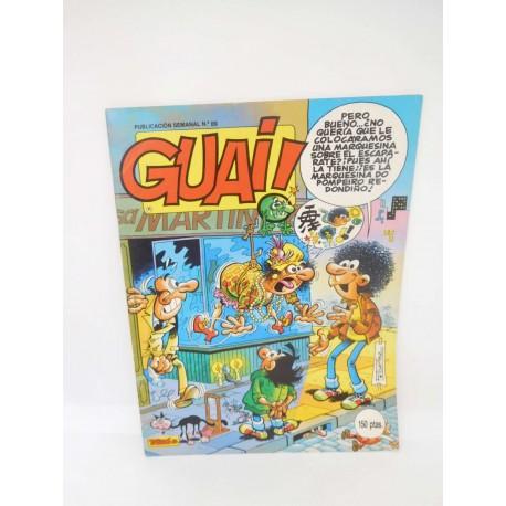 Revista Guai nº89. Editorial Grijalbo.