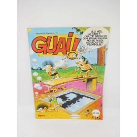 Revista Guai nº111. Editorial Grijalbo.