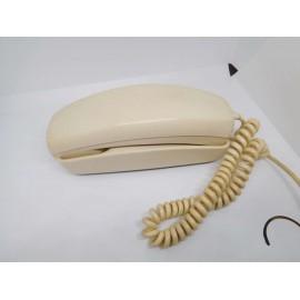 Teléfono antiguo. Modelo Gondola. Color crema. Años 70. Citesa.