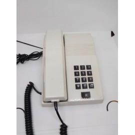 Teléfono antiguo. Modelo Teide. Color blanco. Años 80. Ref 2