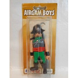 Antiguo muñeco blister airgam boys airgamboys pirata Capitan Blood ref 09100.