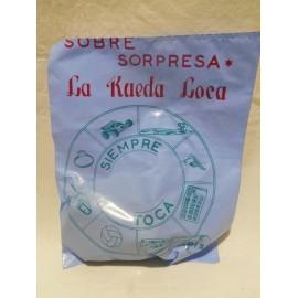 Antigua bolsa sorpresa tipica de kiosko pipero años 70-80 sobre sorpresa 5 pts