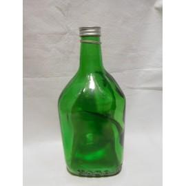 Antigua botella con asa vino Yago. La Rioja. España.