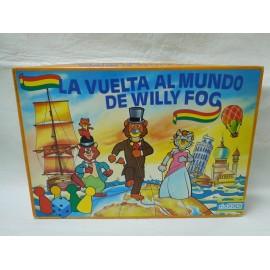 Juego La vuelta al mundo de Willy Fog de Didacta. Años 80. Nuevo. Imposible.