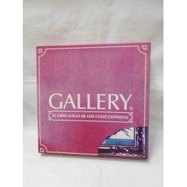 Juego Gallery. El gran juego de los coleccionistas. Ed. J. Alvarado 1997. Nuevo. Muy dificil-