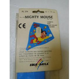Cometa de la marca Eolo Gayla en kit de Super Raton. Años 70.