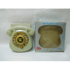 Agenda telefonica marca Eagle. Años 70. Mod. Ty-309. Modelo telefono gondola. Vintage.