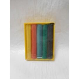 Caja de plastilina  años 70 con seis colores. Totalmente original. Con su caracterÍstico olor.