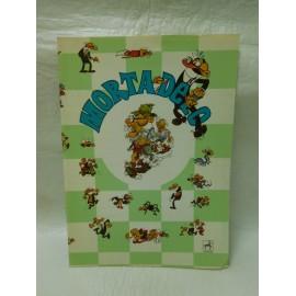 Cuaderno centauro años 80 Mortadelo vagabundo