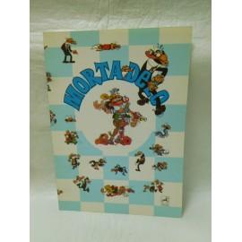 Cuaderno centauro años 80 Mortadelo payaso