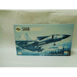 Maqueta antigua de Airfix Saab Viggen. Nueva.