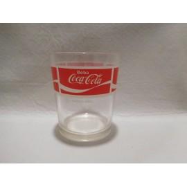 Vaso publicidad Cocacola años 80.