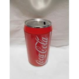 Hucha tamaño grande imitando envase de lata de Cocacola