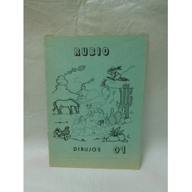 Cuaderno Rubio verde escritura nº 9. Nuevo. Años 80.