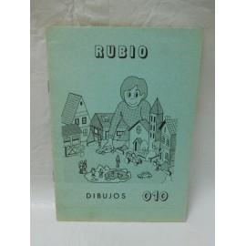 Cuaderno Rubio verde escritura nº 10. Nuevo. Años 80.