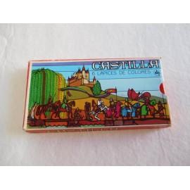Caja de seis colores. Pinturas Castilla. Años 70.