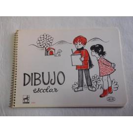 Antiguo cuaderno de dibujo Centauro. Tamaño pequeño. Años 70.