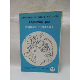 Laminas de dibujo Emilio Freixas. Numero A4. Nuevas.