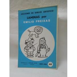 Laminas de dibujo Emilio Freixas. Numero A6. Nuevas.