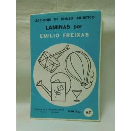 Laminas de dibujo Emilio Freixas. Numero A7. Nuevas.
