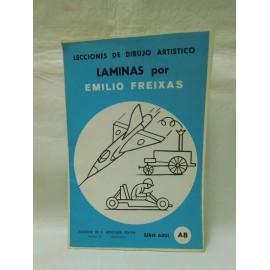 Laminas de dibujo Emilio Freixas. Numero A8. Nuevas.
