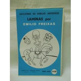 Laminas de dibujo Emilio Freixas. Numero A10. Nuevas.