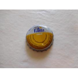 Antigua chapa Fanta limón años 80