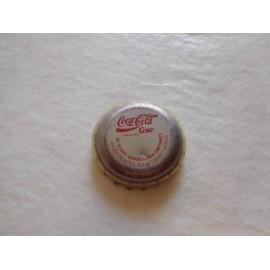 Antigua chapa  Cocacola Coca cola años 80