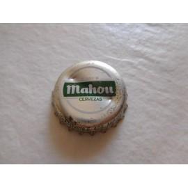 Antigua chapa cerveza Mahou. Años 80.