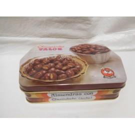 Caja lata metálica de Conguitos Valor.  Antigua años 70.