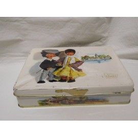 Antigua lata de caramelos El Avión. Logroño.