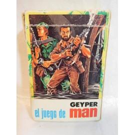 Baraja de cartas el juego de Geyperman. Ediciones Recreativas. Años 70. Completa
