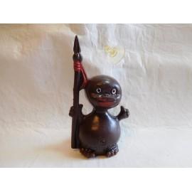 Antiguo muñeco de los Conguitos con ventosa. Años 70. Premium Conguitos.