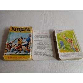 Baraja de cartas Los Deportes Fournier. Años 60. Completa y en caja.
