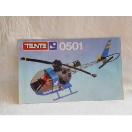 Instrucciones de montaje de Tente Ref 0501 Helicóptero servicio de autopistas