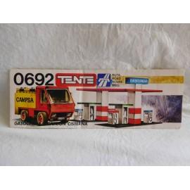 Instrucciones de montaje de Tente  Ref 0692 Gasolinera y camión cisterna