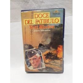 Cinta VHS película bélica Los Doce del Patíbulo. 1967. Cine Bélico.