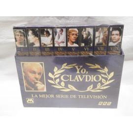 Serie completa en VHS de la serie mítica Yo Claudio. Ocho cintas.