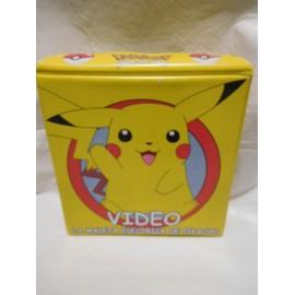 La Maleta Eléctrica de Pikachu. 4 cintas VHS con su estuche.